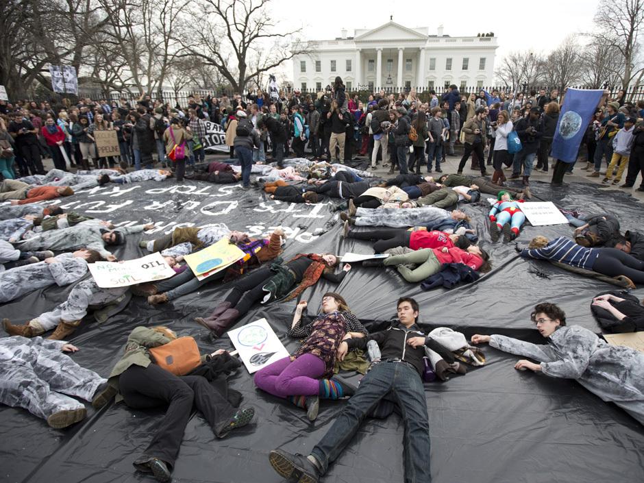 APTOPIX Keystone XL Pipeline Protest