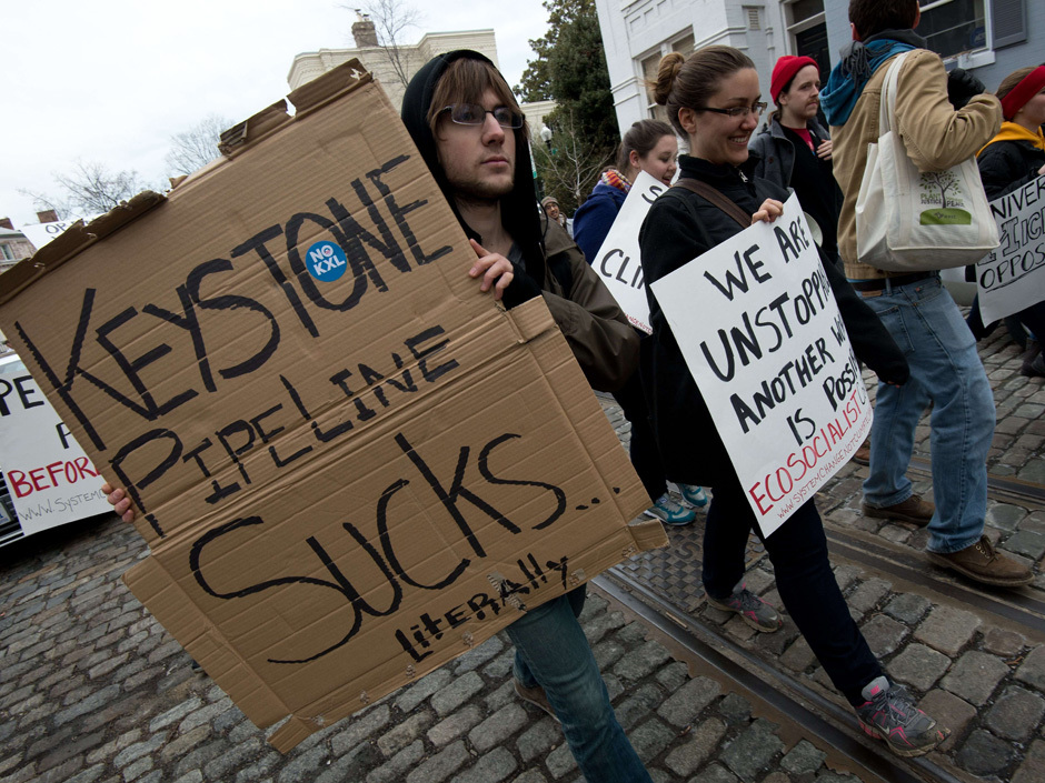 US-POLITICS-ENERGY-KEYSTONE-PROTEST